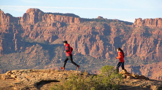 360 Moab Adventures: Sunrise Trail Running Tours