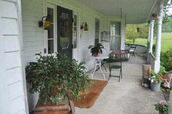 The Wayside Inn: Back Porch
