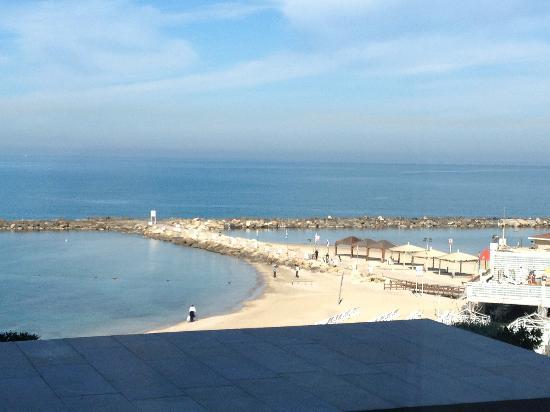 Hilton Tel Aviv: View from breakfast