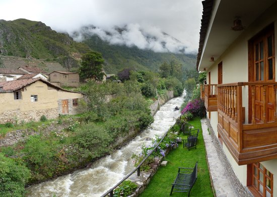 View Peru & Signatures: View from hotel in Ollantaytambo