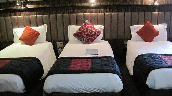 Trinity City Hotel: The room