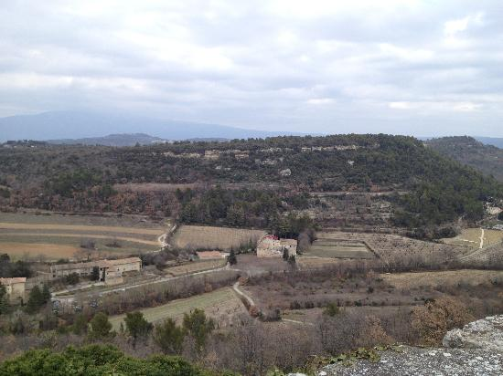La Calade: The view
