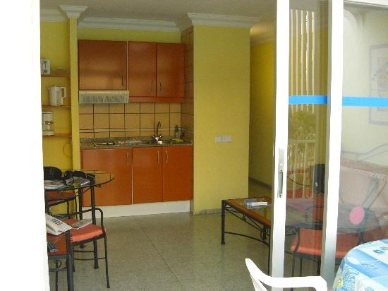 Apartamentos Amazonas: Living area