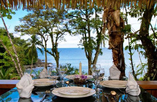 Copa de Arbol Beach and Rainforest Resort: View from Dining