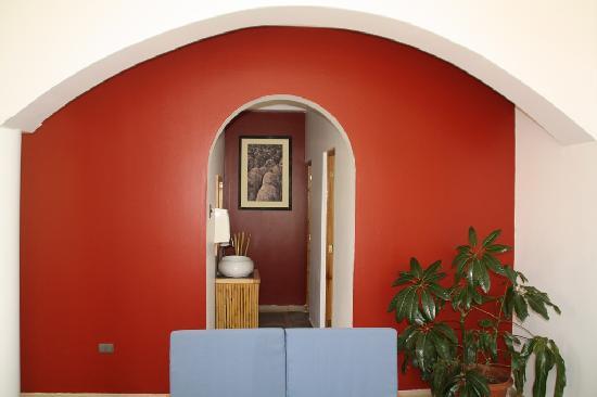Hotel Villa Jazmin: Reception area
