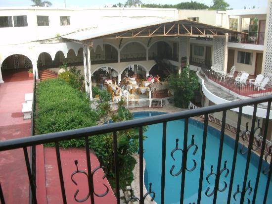 Maria de la Luz Hotel: La vista desde nuestra habitacion