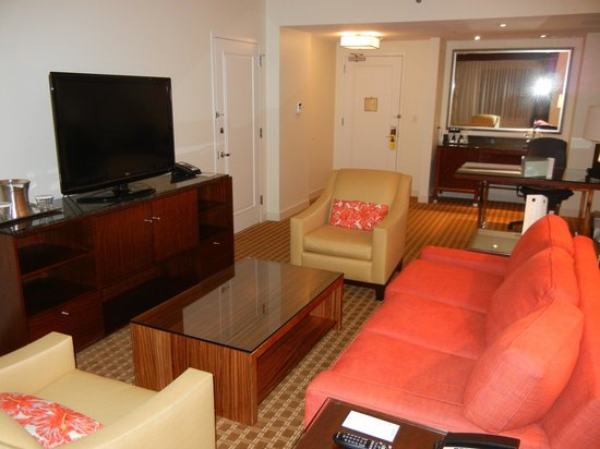 Hilton Orlando: Livign Area