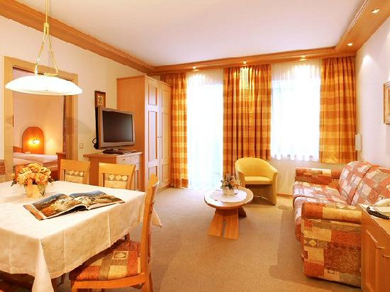 Residence Apartments Risaccia: living room with satellite LCD