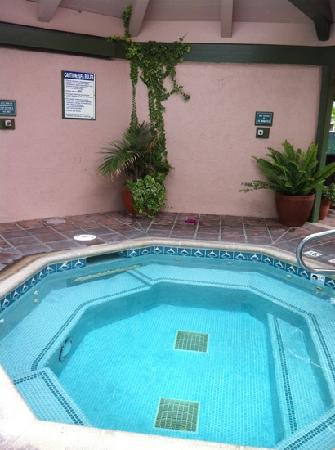 Half Moon Bay Lodge: jacuzzi