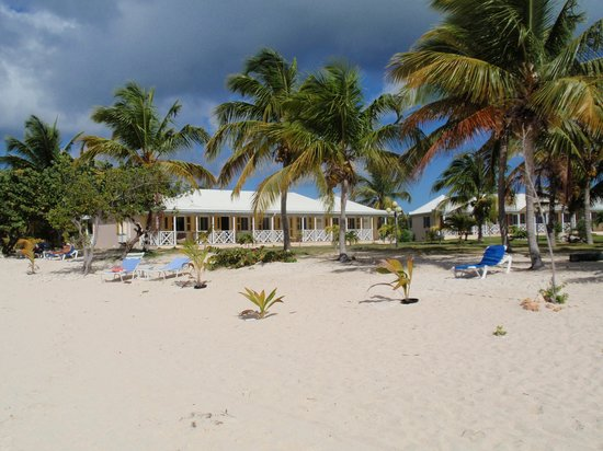 Anguilla Great House Beach Resort: The hotel from the beach!!