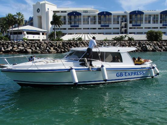 Anguilla Great House Beach Resort: GB Express shuttle to Anguilla from St. Maarten