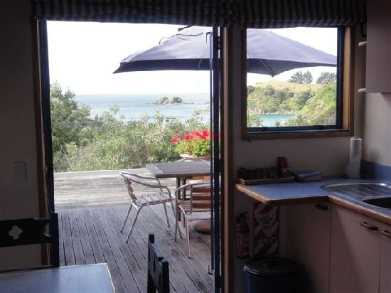 Palm Beach Lodge: View from kitchenette in 2 bedroom unit