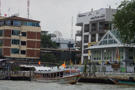 Navalai River Resort : L'HOTEL DEPUIS LA RIVIERE