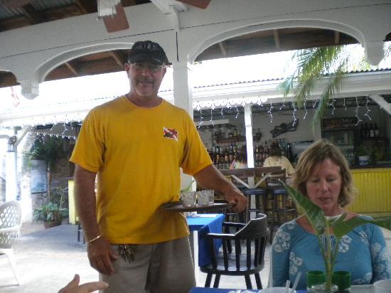The Courtyard Restaurant: Captain Miles