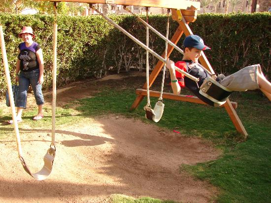 Tamra Beach: Детская площадка