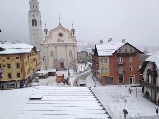 De la Poste: view from the hotel room