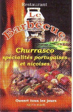 Fa ade du restaurant picture of le barbecue nice - Le barbecue nice ...