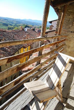 Le Case della Saracca: View from upper balcony