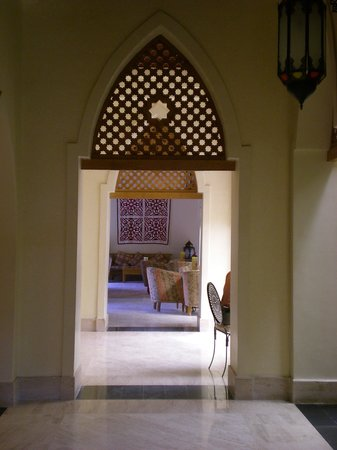 The Makadi Palace Hotel: in the reception area