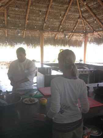 Rancho Pescadero: cooking with Chef Bueno