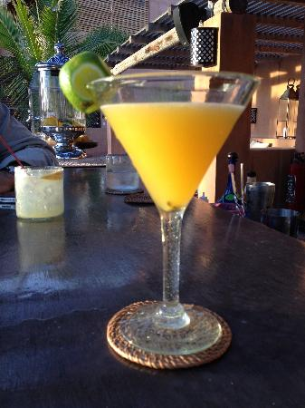 Rancho Pescadero: passion fruit marg welcomed us on when we arrived