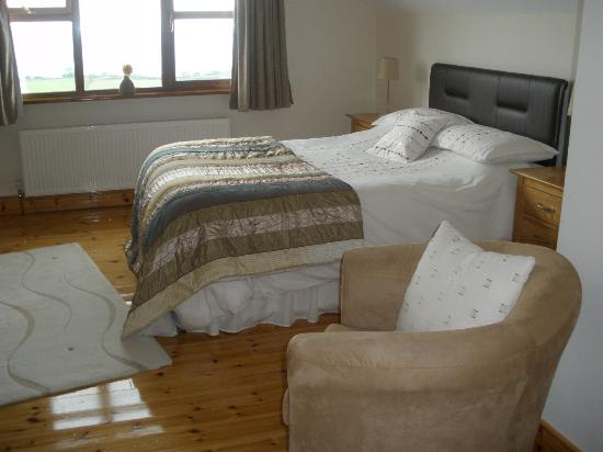 Inishowen Lodge : Double ensuite room with views over Lough Foyle