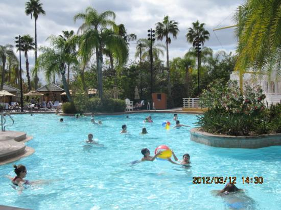 Pool picture of loews royal pacific resort at universal for Pool show orlando florida