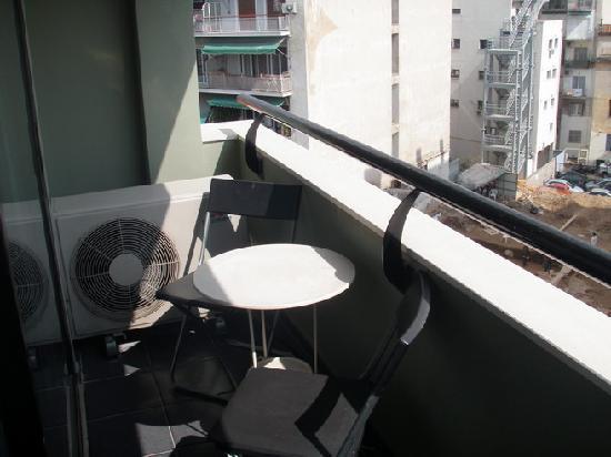 Athens Studios: Balcony