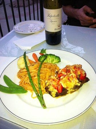 Orlando's Seafood Grill: Steak Neptune at Orlando's