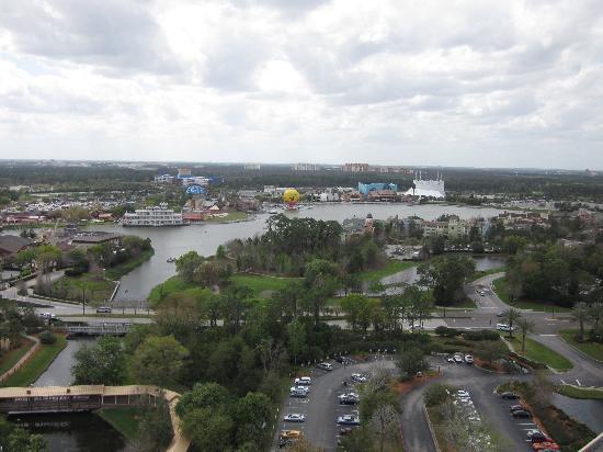 Hilton Orlando Buena Vista Palace Disney Springs: View from 24th floor