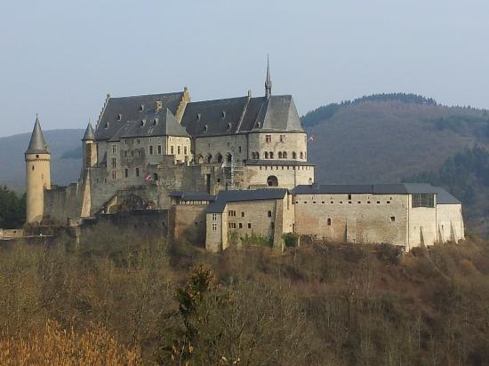 Vianden, Lüksemburg: The castle