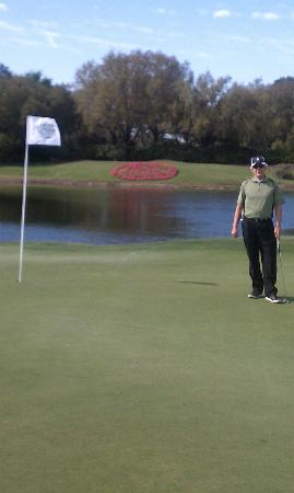 Grand Cypress Golf Club: The view from the green on a par 3