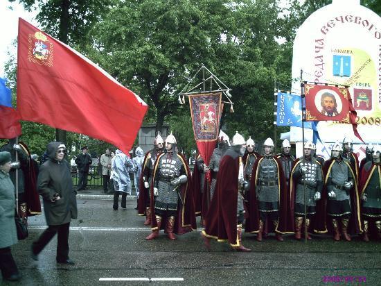 Tver, Russland: День Славянской Письменности