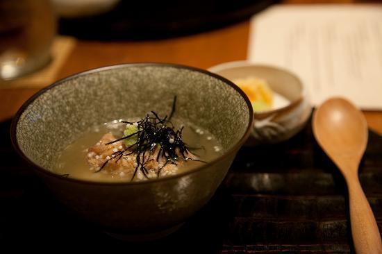Wakuriya: Seventh course. Rice dish.