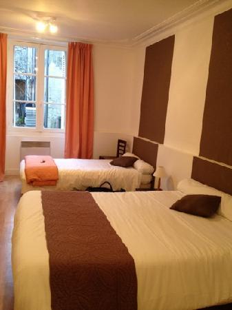 Hotel Le Cheval Rouge: la chambre