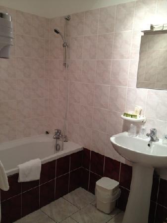 Hotel Le Cheval Rouge: salle de bain