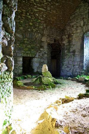 Castletownroche, Irland: 2nd floor of 15th Century Tower