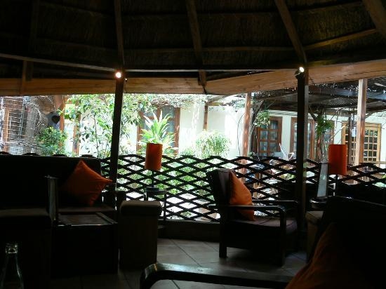Hôtel Belle-Vue : the bar
