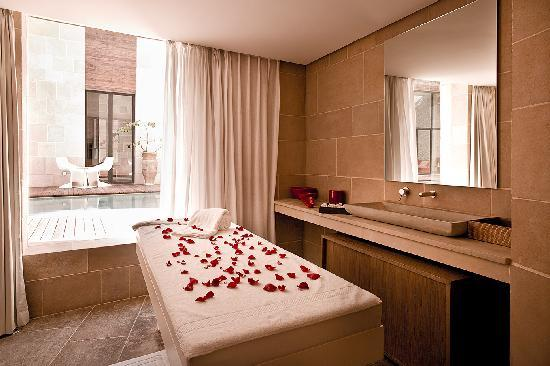 Spa Riad Fes by Cinq Mondes : Cabin for massage