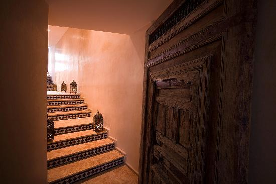 Spa Riad Fes by Cinq Mondes : Entrance