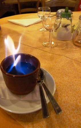 Ristorante Vecchio Borgo: la crème brulée come raramente mi é capitato di mangiare