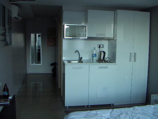 Harbiye Residence : Cooking facilities