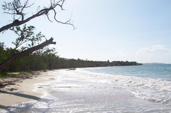 Sandals South Coast: the natural beach, which will soon be the home to Beaches