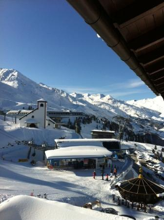 Top Hotel Hochgurgl: View from the room
