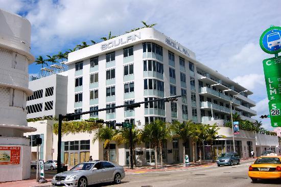 Boulan South Beach: hotel exterior