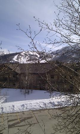 Park City Peaks Hotel: View from our window