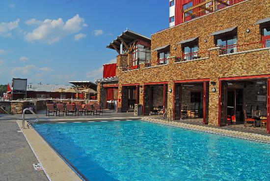 Outdoor Pool Picture Of Bear Creek Mountain Resort