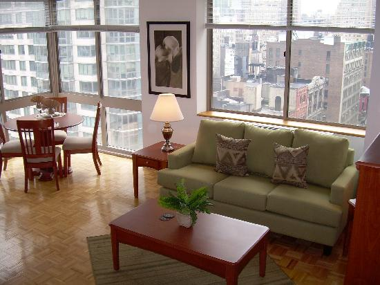 BridgeStreet Liberty Towers : More space, comfort, and privacy than a typical hotel
