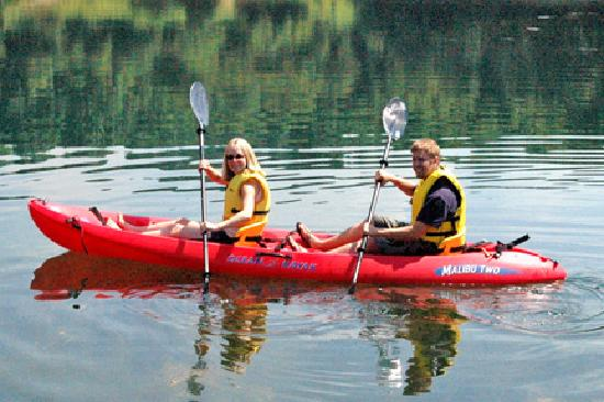 Bear Creek Mountain Resort: Kayaking