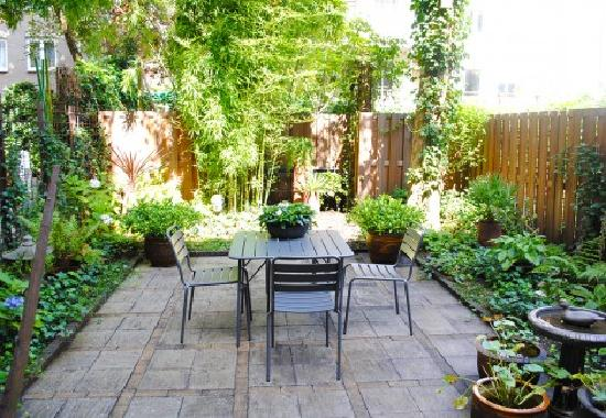 Amsterdam B&B Park9: garden